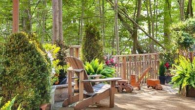 luxury on your backyard deck