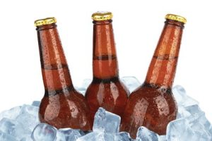 three cold summer beer