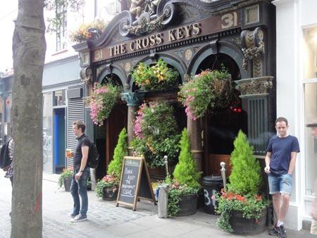 Cross Keys Pub, London, England