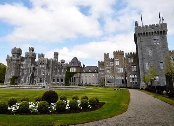 Ashford Castle in Cong Ireland, the Jewel