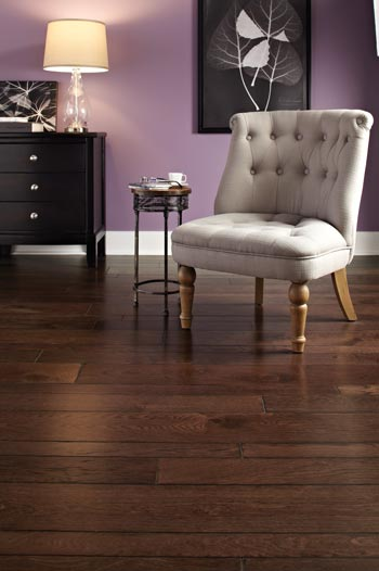 elegant dark hardwood flooring