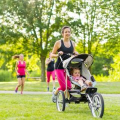 How new parents can squeeze in  physical activity