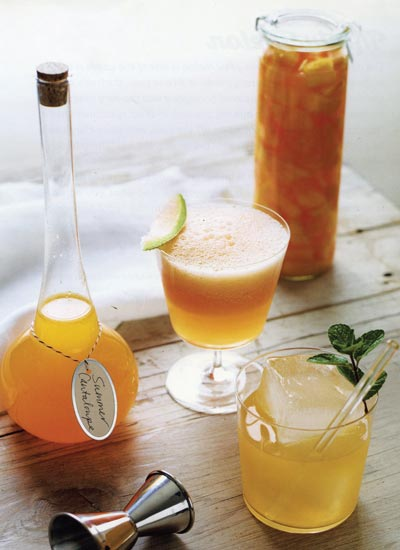 sweet summer cantalope drink