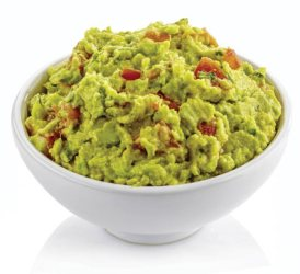 avacado dip in bowl