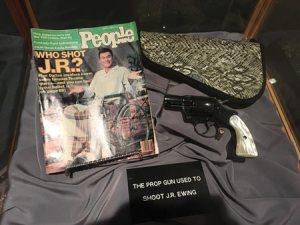 Dallas TV Show the gun that shot J. R.