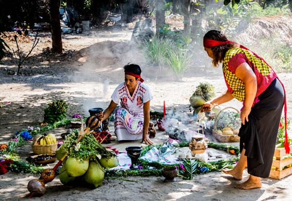 preparation at Tamezcal