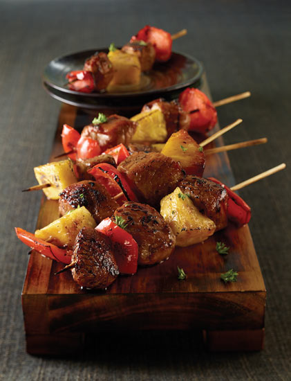 grilled bbq kebabs recipe