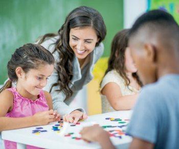 kids preparing ot go back to school