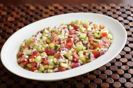 cucumber tomatoe summer salad