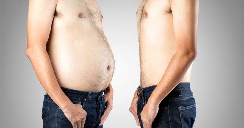 belly fat vs flat belly