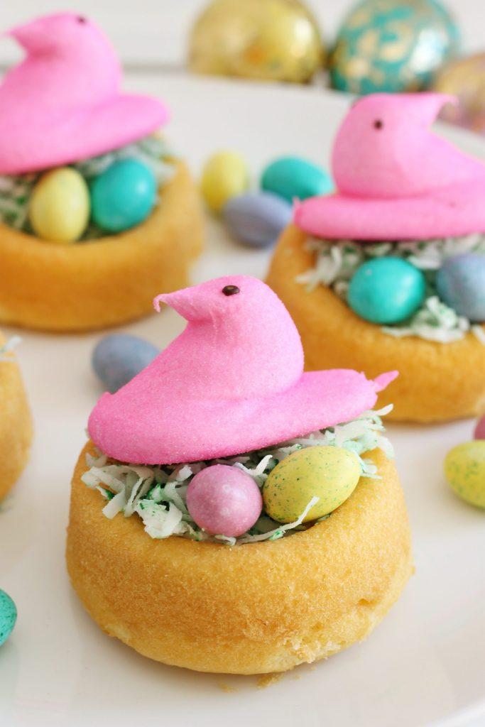 Peeps Bird Nest Treats for Easter