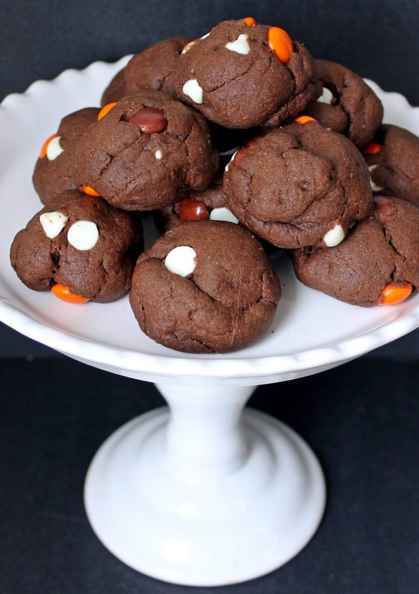 Double Chocolate Cookies for Halloween