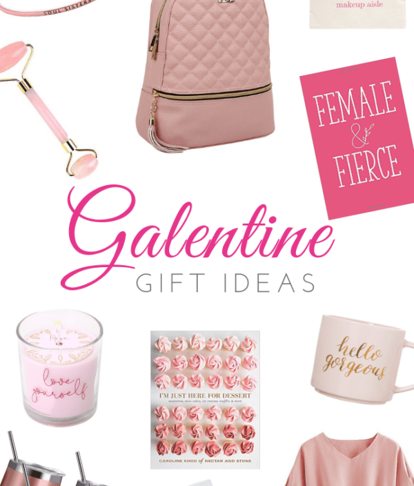 Pink Galentine Gift Ideas for Your Best Girlfriends