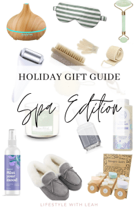 Holiday Gift Guide Spa