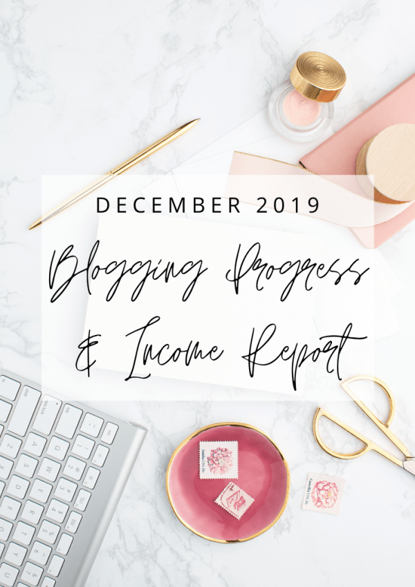 My First Blogging Income Report – December 2019