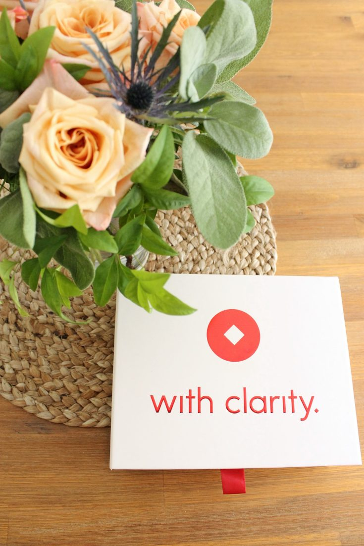 with clarity engagement ring home preview