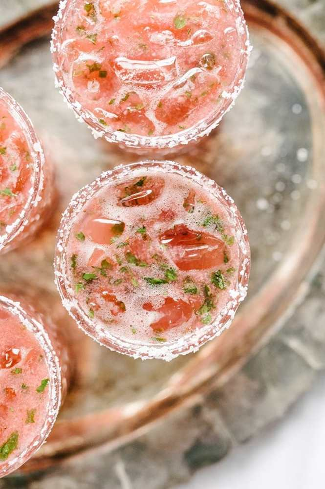 strawberry basil margarita