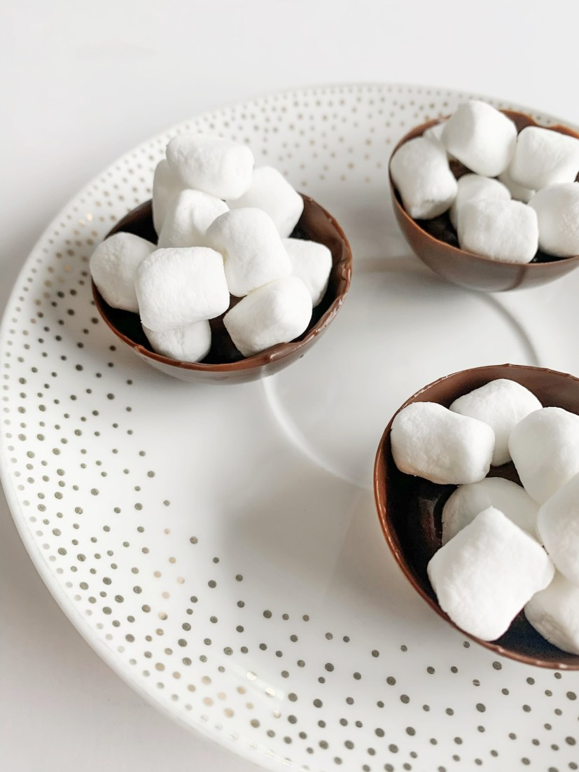 Hot Chocolate Bomb Toppings