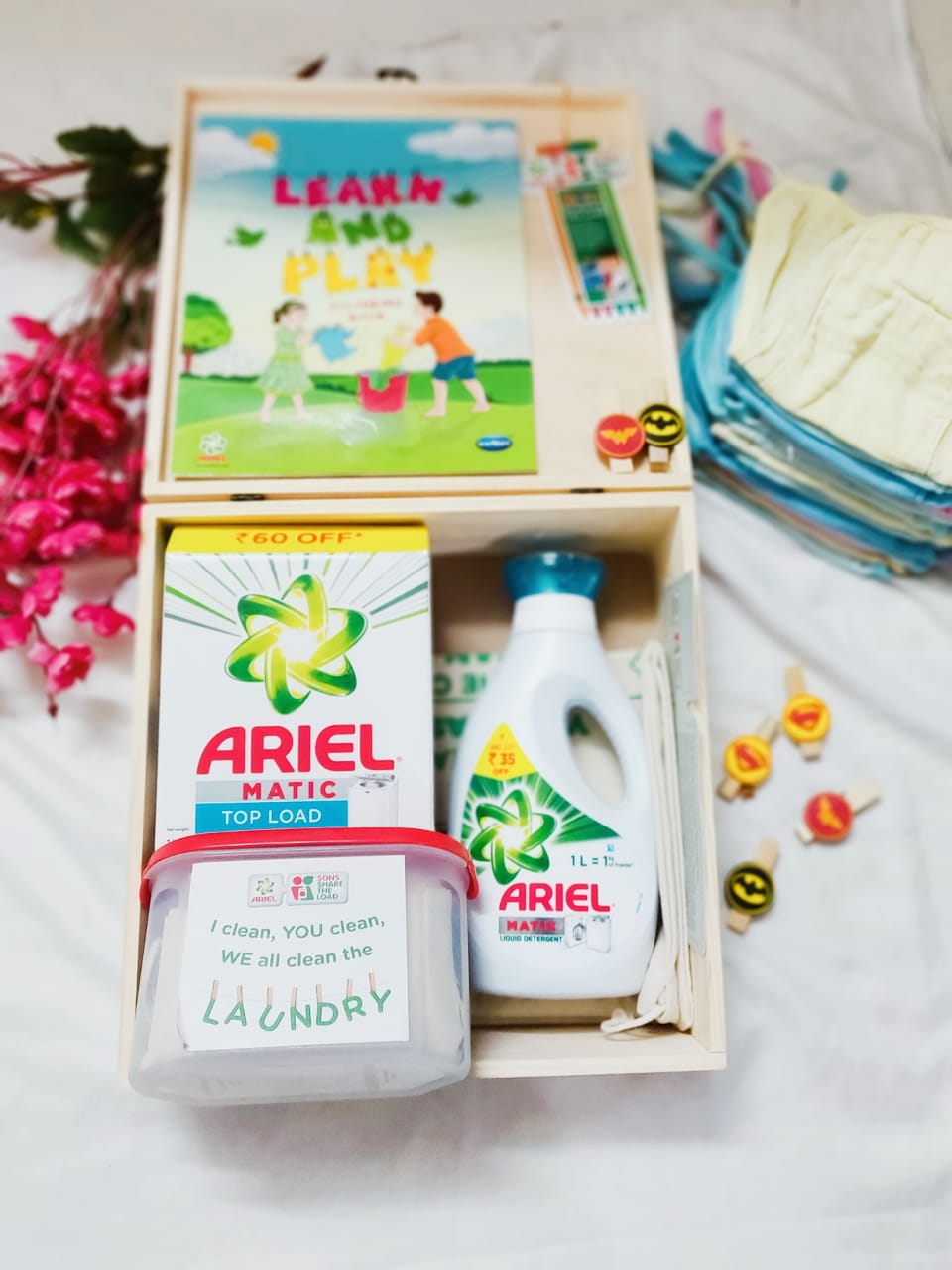 Ariel breaking stereotypes with sharetheload campaign