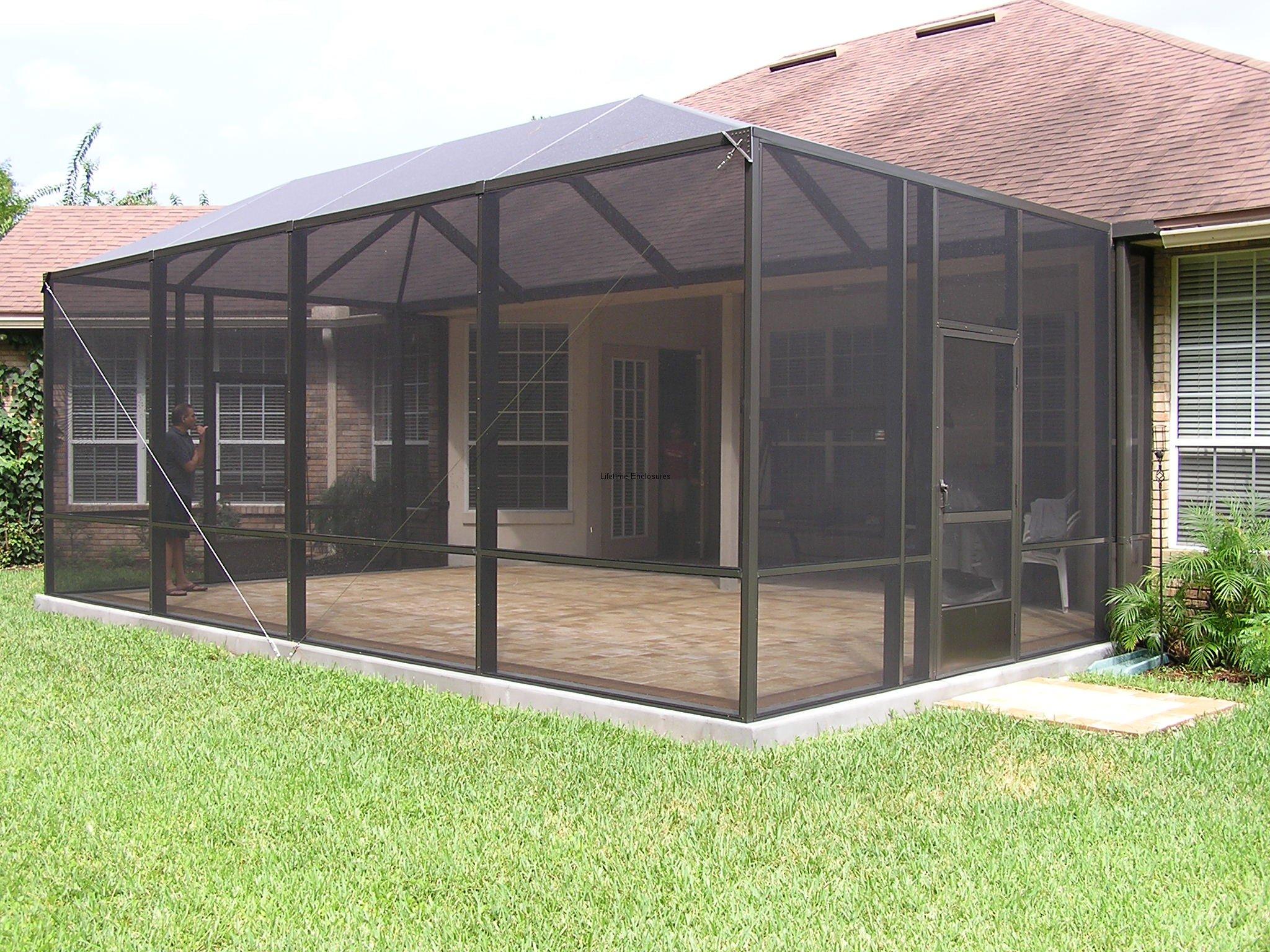 Design A Screened In Patio | Joy Studio Design Gallery ... on Backyard Patio Enclosure Ideas  id=54965