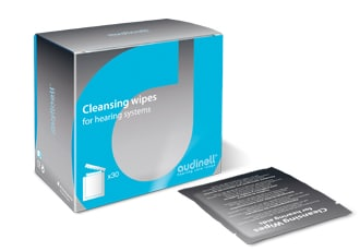 audinell hearing aid cleaning wipes