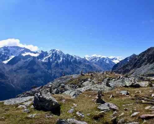 Braunschweiger hut to Vent via Alpine panorama trail