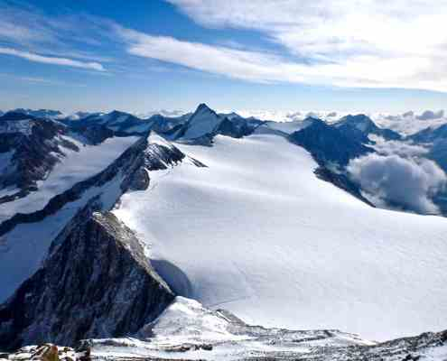View from the Similaun 3606m