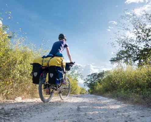 First experiences with bicycle touring
