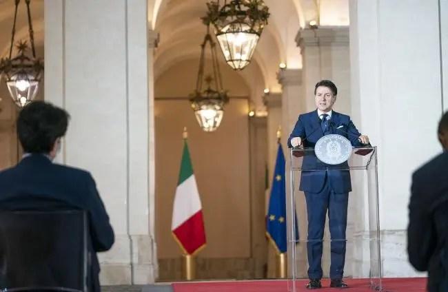 President Conte planning to restart Italy's economy