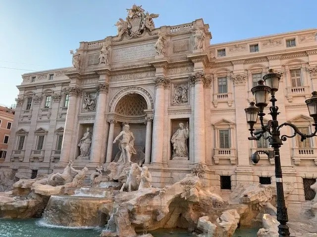 trevi fountain, best things to see in Rome