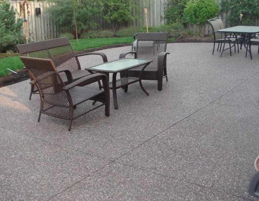 backyard patio companies stamped