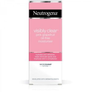 Neutrogena Visibly Clear Pink Grapefruit Oil Free Moisturizer