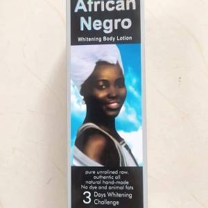 African Negro whitening Lotion