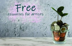 Free resources for artists