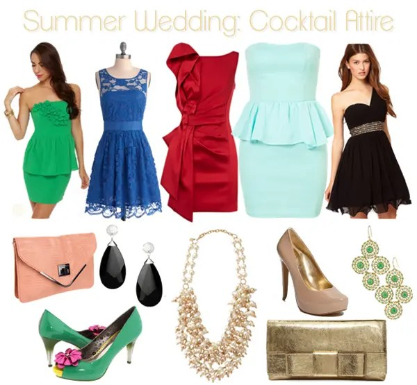 Wedding dress code cocktail life unsweetened for What is formal dress code for a wedding