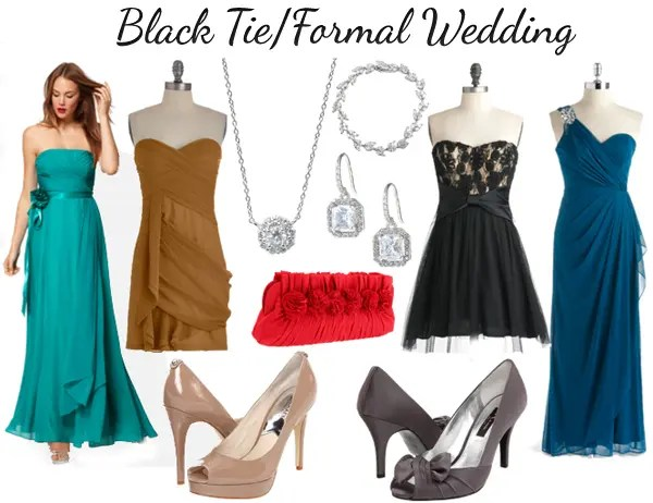 Black Tie Dress Code For Wedding 50 Nice Summer Wedding Black Tie