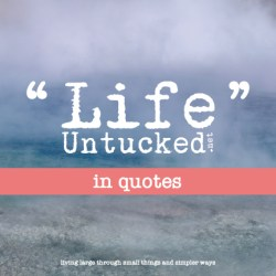 LifeUntucked in Quotes cover image