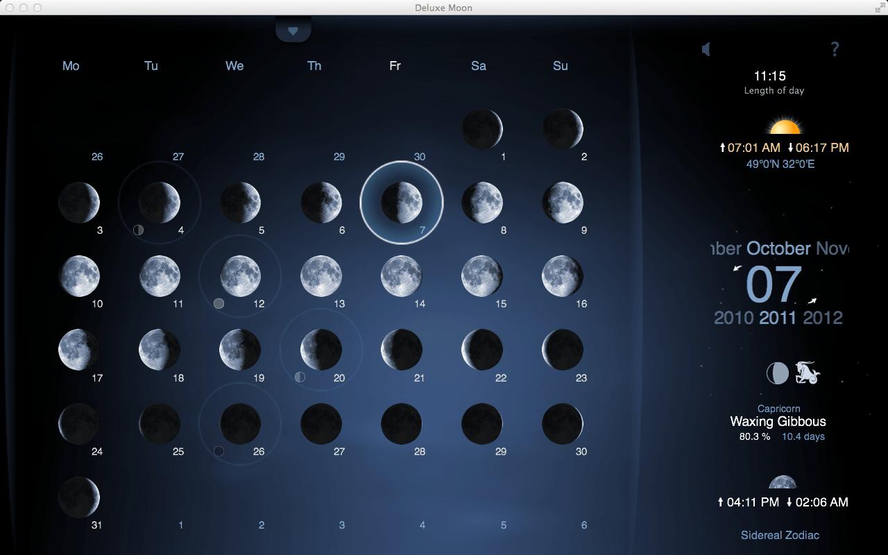 Moon Phase Mac