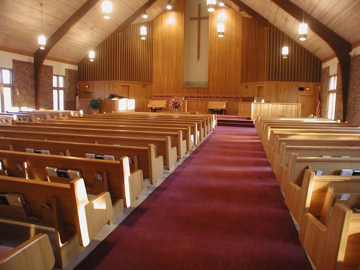 Church Pews Solid Oak Amp Maple Pew Designs