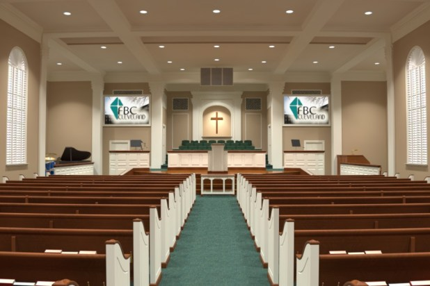 modern church interiors | Brokeasshome.com