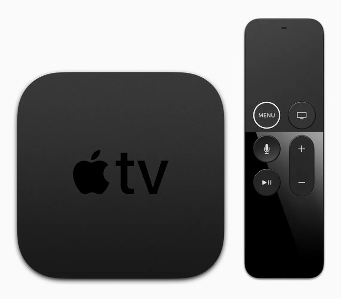 Apple TV and Apple TV Remote