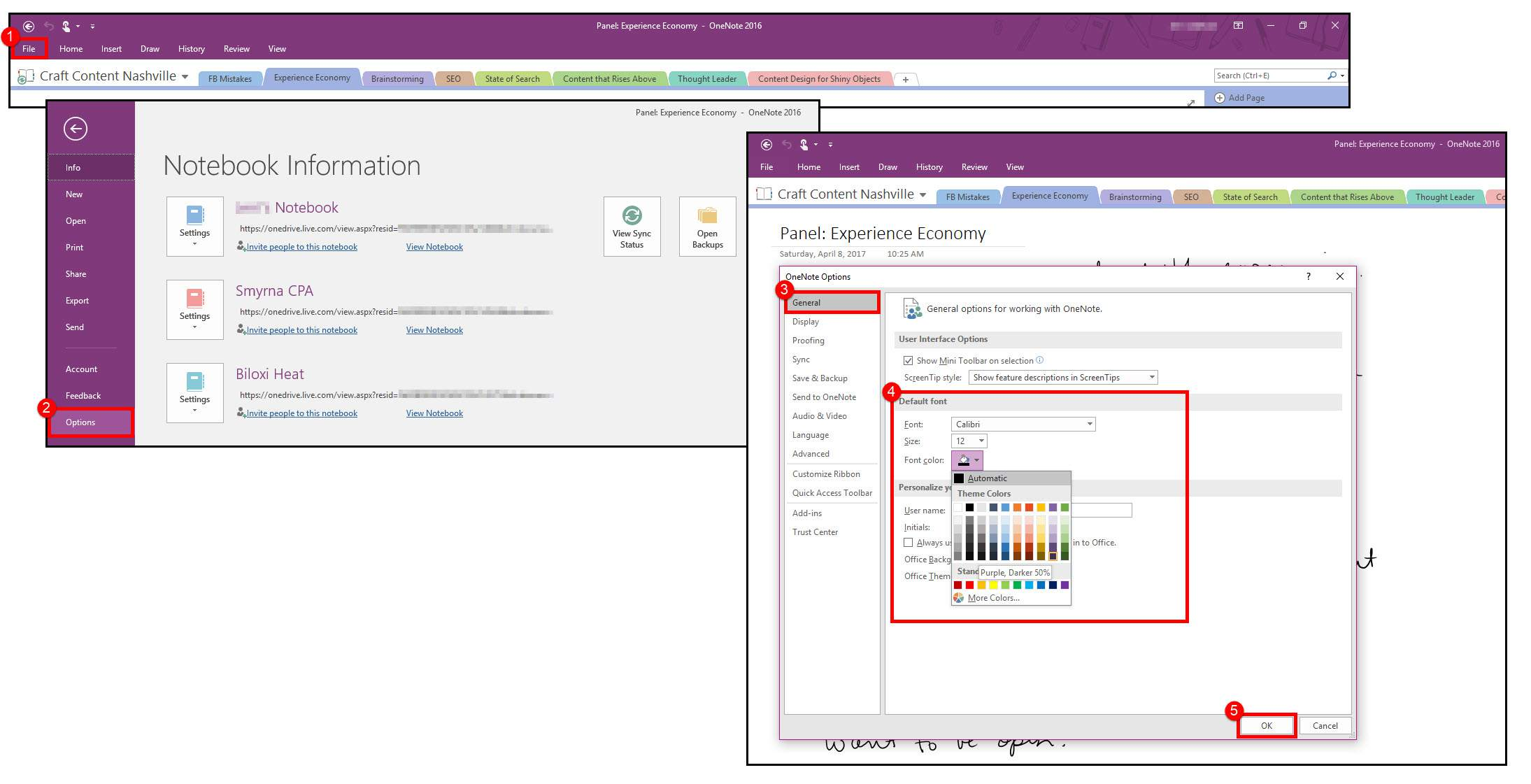 16 Settings To Control Your Microsoft Onenote Experience