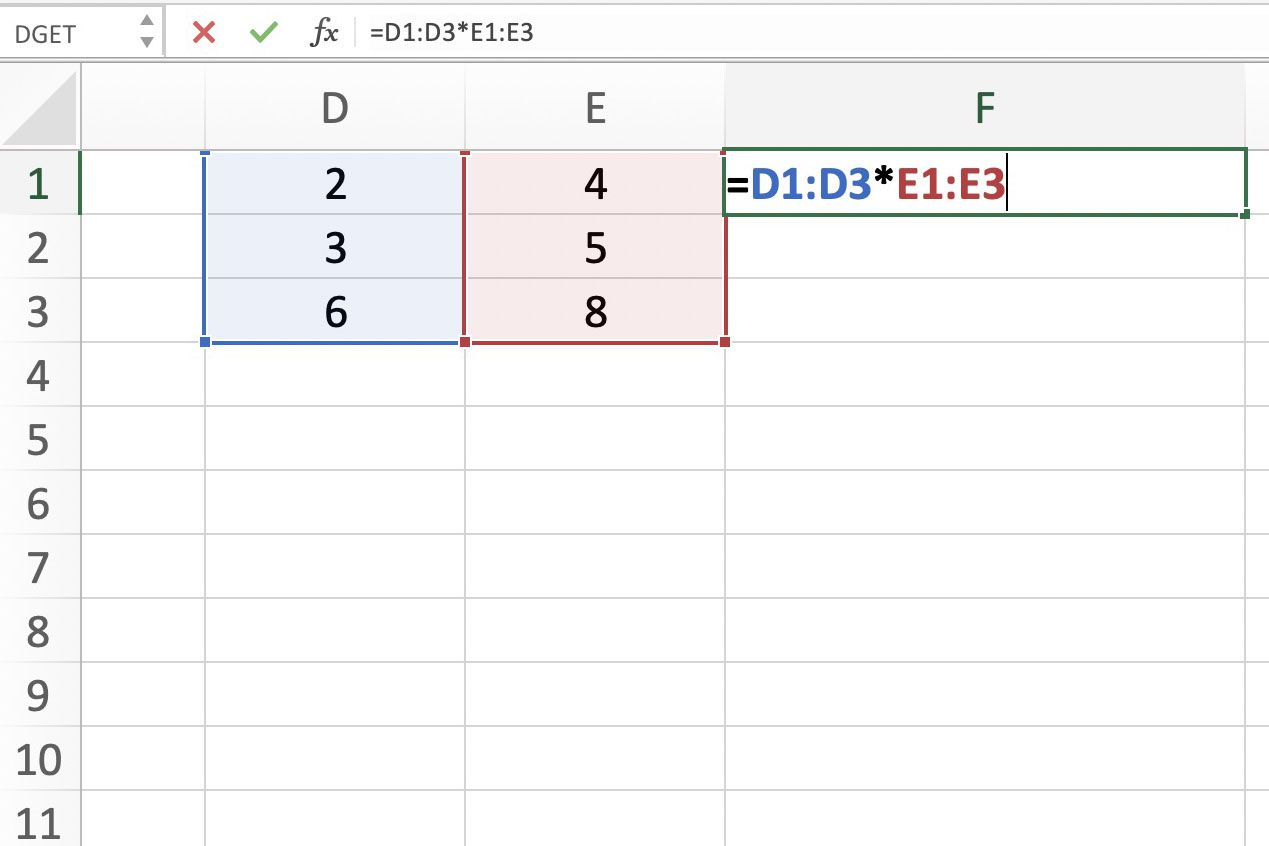 Arrays Array Formulas And Table Arrays In Excel