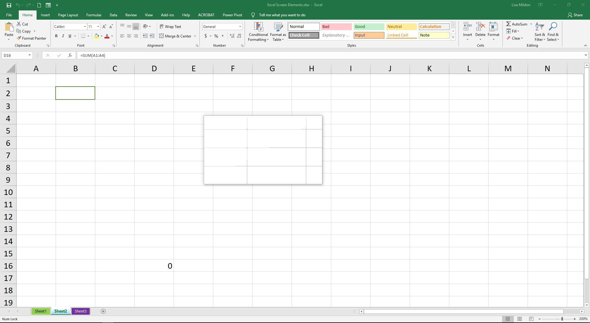 Dynamic Worksheet Reference In Excel