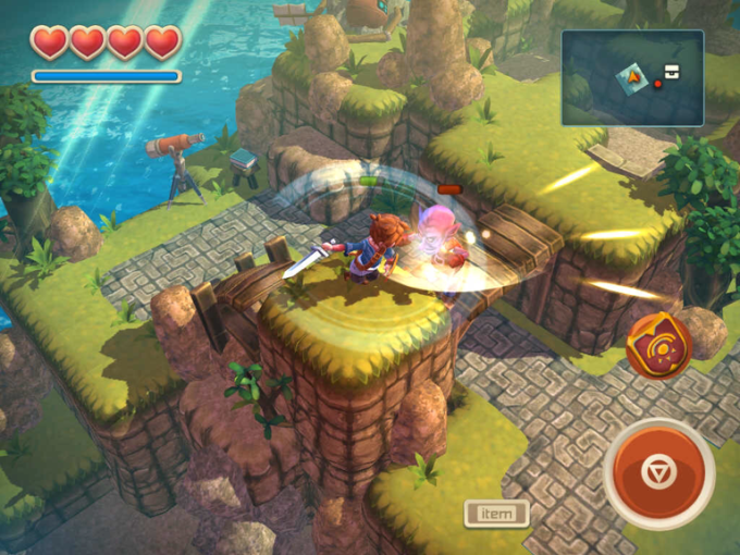 The Best Games Like Diablo for the iPad Oceanhorn may belong more on a list of games similar to Legend of Zelda  rather than Diablo  but to be fair  it is the best Legend of Zelda game  that is not