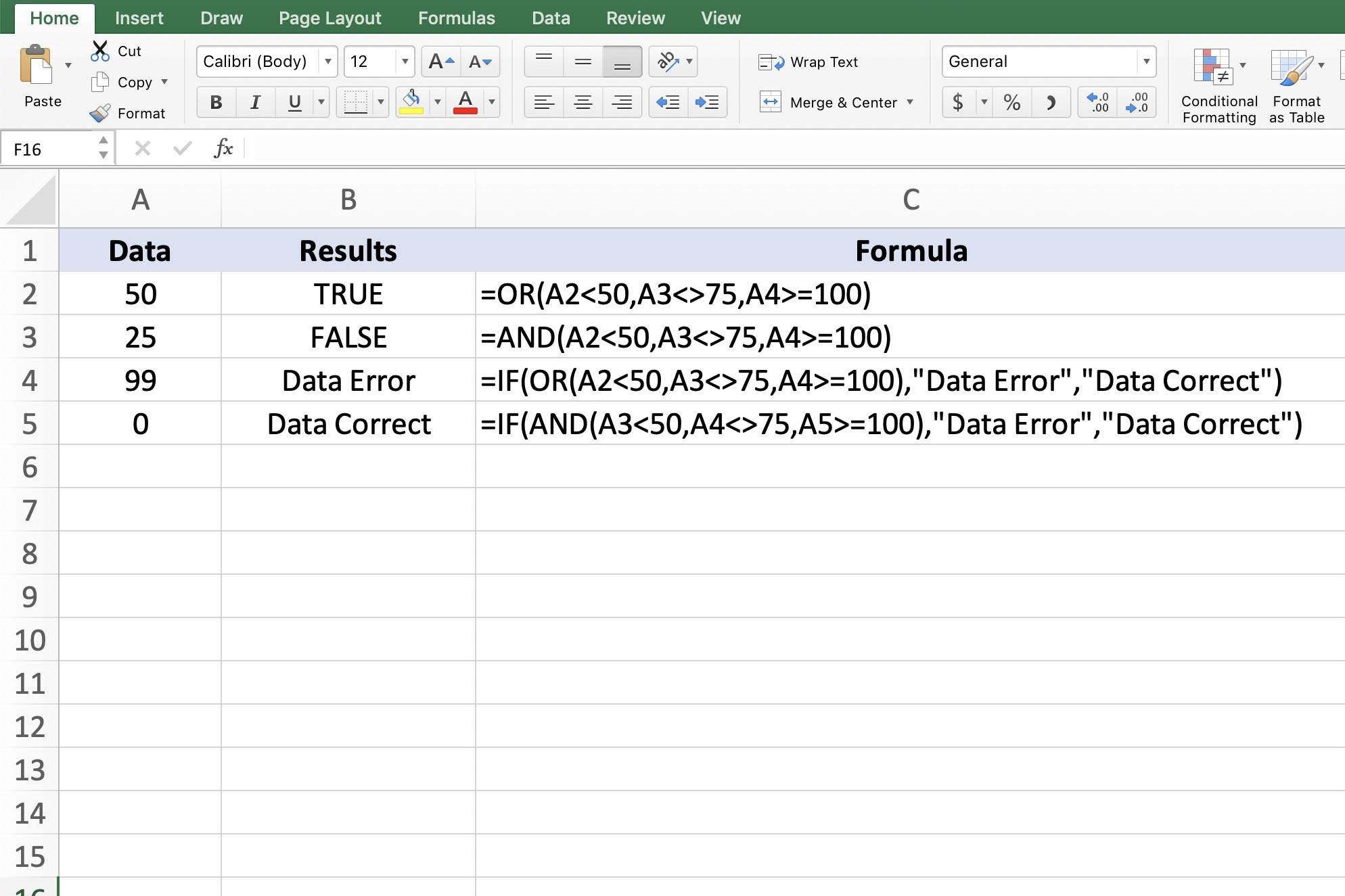 Learn About Excel And And Or Functions