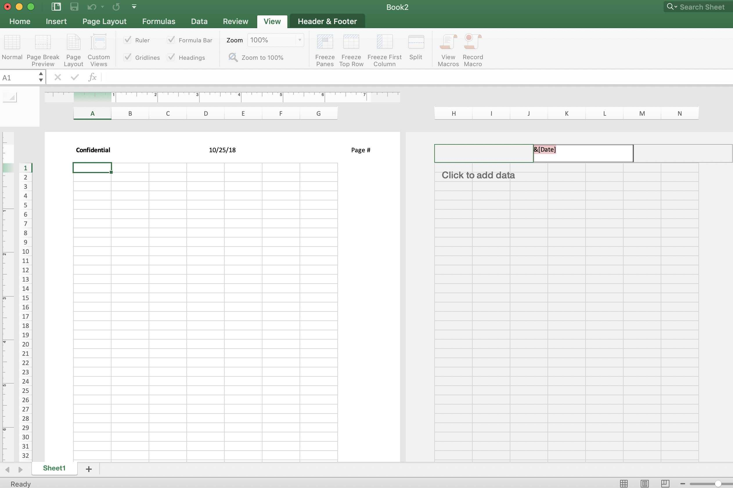 Add Preset Or Custom Headers And Footers To Excel Worksheets