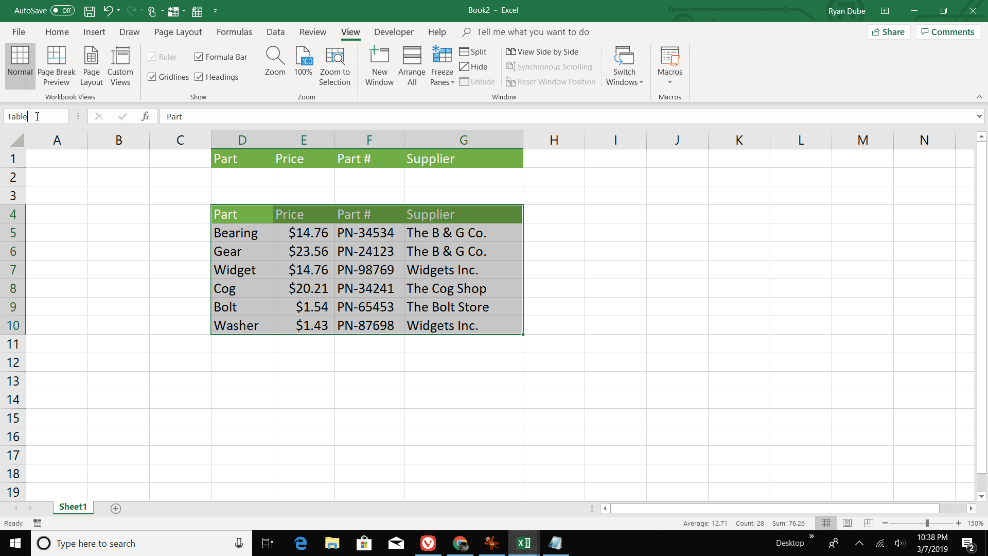 Find Multiple Fields Of Data With Excel Vlookup