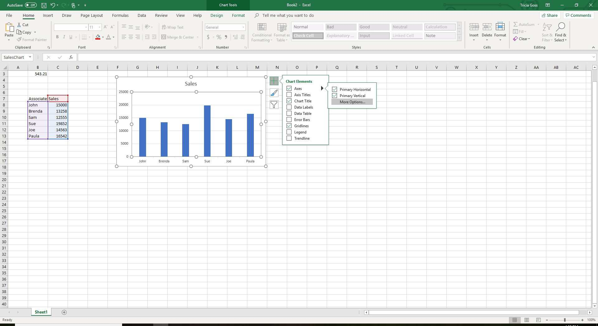 Learn How To Show Or Hide Chart Axes In Excel