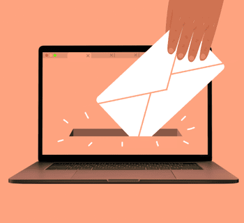Mail from a laptop